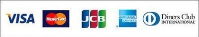 クレジットカードの五大国際ブランドのロゴマーク