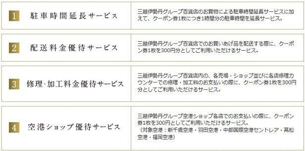 ゴールドカード会員専用クーポン券(4,200円相当)プレゼント!