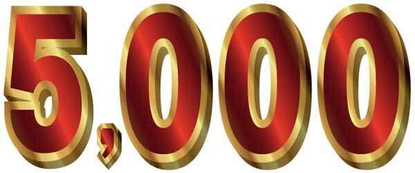 5000ポイント入会キャンペーン常時開催中