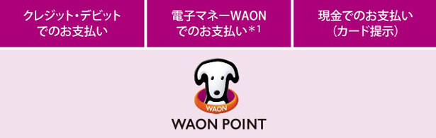 WAONPOINTへ統一